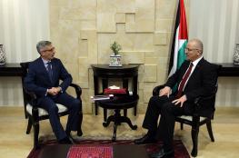 الحمد الله يبحث مع القنصل الفرنسي سبل تعزيز التعاون المشترك