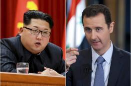 بشار الاسد يعبر عن شكره العميق لزعيم كوريا الشمالية