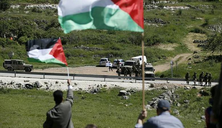 اسرائيل تستولي على 139 دونماً من اراضي  رام الله