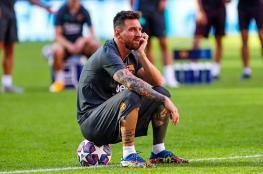بعد الفضيحة الكروية ..ميسي يبلغ نيته الرحيل عن برشلونة
