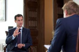الاسد سنواصل حربنا على الارهابيين  في سوريا