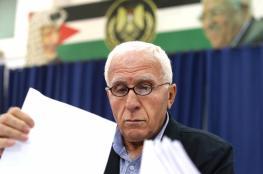 الاحمد يبحث القضية الفلسطينية مع نائب امين عام حزب الله