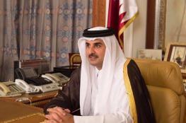 امير قطر يخصص 2 مليون دولار لضحايا مخيم النصيرات