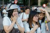 الفلبين تتعرض لزلزال قوي والمواطنون يهرعون الى الشوارع