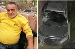 مصرع مواطن  من نابلس في حادث سير مروع جنوب جنين