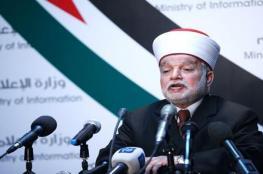 مفتي القدس: قرار حظر الأذان عنصري واعتداء على حرية العبادة
