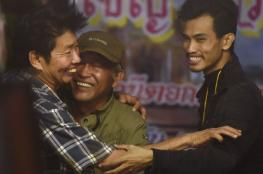 """بعد أكثر من اسبوعين ..تايلند تعلن انتهاء أزمة """"اطفال الكهف """""""
