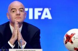 اصابة رئس الاتحاد الدولي لكرة القدم بكورونا