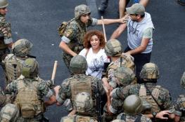 اشتباكات بين الجيش اللبناني والمتظاهرين في بيروت