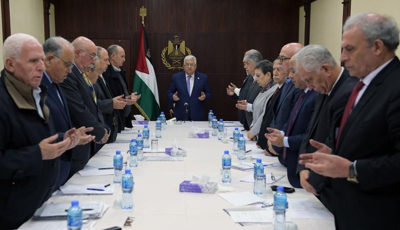 المنظمة : سنتصدى لجميع محاولات تصفية القضية الفلسطينية وإسقاطها
