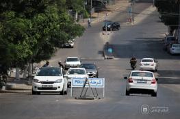 حظر التجوال في غزة يدخل يومه 24 على التوالي