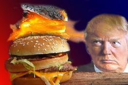 """هل تخلى ترامب عن تناول """"البرجر"""" المفضل له؟"""