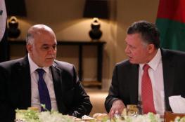 العاهل الأردني يهنئ العبادي بانتصارات الموصل