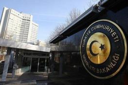 تركيا تجدد رفضها ضم روسيا شبه جزيرة القرم