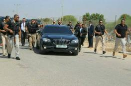 رئيس الوزراء يغادر قطاع غزة متوجهاً الى رام الله