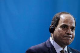 السيسي يعلن القضاء على بنية الأرهاب في مصر