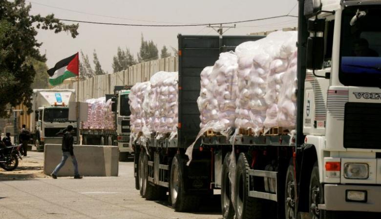بشارة: نتطلع لتبادل المعلومات مع مصر بشأن التجارة المتبادلة في غزة