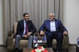 تفاصيل اجتماع حماس مع وفد المخابرات المصرية في غزة