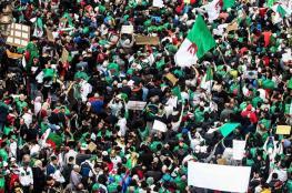 """التظاهرات الحاشدة في الجزائر مستمرة بالرغم من مغادرة """"بوتفليقة """""""