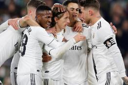 نادي ريال مدريد الاسباني يصل دولة عربية ( صور )