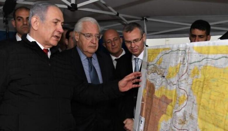نتنياهو يحتفظ بخرائط الضم ويرفض اطلاع احدا عليها