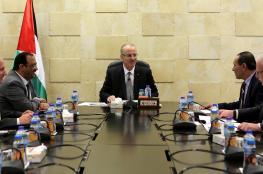 رئيس الوزراء يجتمع مع اللجنة الخاصة بانضمام فلسطين للانتربول