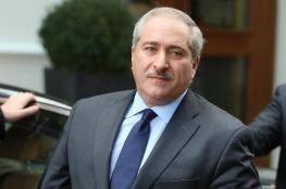 """وزير الخارجية الاردني يصل رام الله للقاء الرئيس """" عباس """""""
