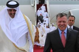 لأول مرة منذ 6 سنوات ..أمير قطر يزور الأردن