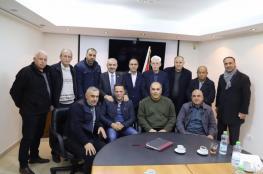 """رئيس الوزراء المكلف """"اشتيه """" يلتقي أمناء سر حركة فتح"""