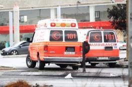 اصابة 3 مواطنين في حوادث سير بمدينة جنين