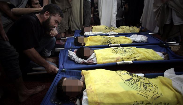 """""""إسرائيل"""" أبادت 133 عائلة بغزة منذ 2006"""