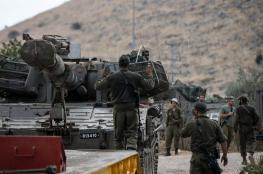 """""""اسرائيل """" : تعزيزات عسكرية على الحدود مع لبنان  واغلاق للمجال الجوي"""