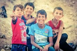 الشرطة في نابلس تنقذ اطفالا من كارثة حقيقة
