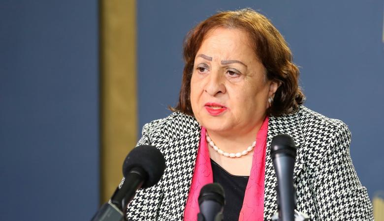 وزيرة الصحة : فلسطين في حالة طوارئ وعلى الاطباء الالتزام بالدوام الرسمي