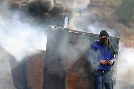 اصابات في صفوف الفلسطينيين اثر مواجهات بالضفة