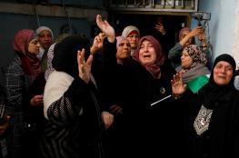 """تشييع جثمان الشهيدة """"سماح مبارك """" في رام الله"""
