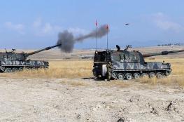 """المدفعية التركية تقتل """" 55 """" من داعش شمال سوريا"""
