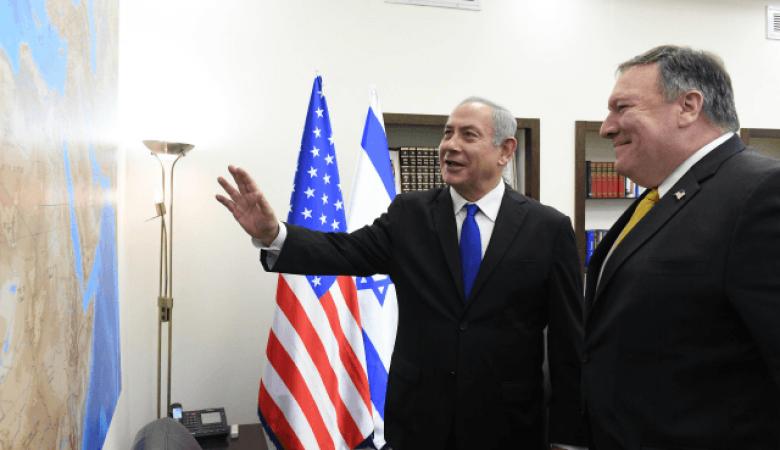 """نتنياهو يناقش الانسحاب الامريكي من سوريا مع """" مايك بومبيو """""""