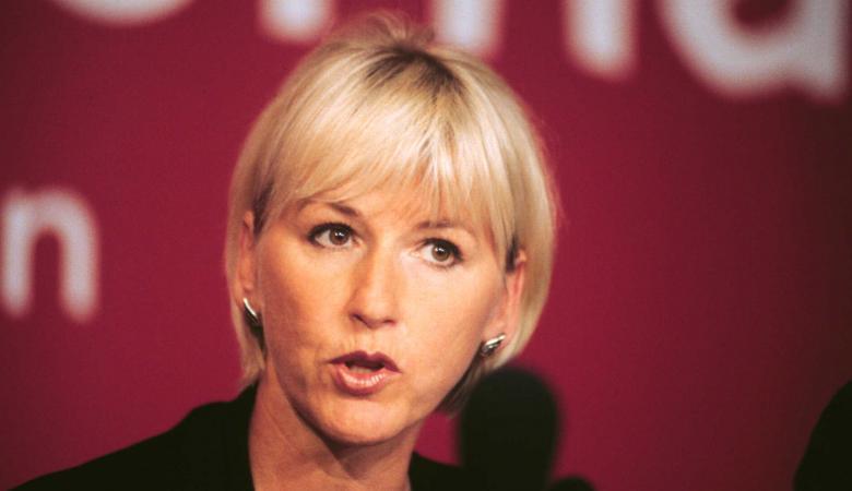 """وزيرة الخارجية السويدية : نوايا ترامب ضد القدس """"كارثية """""""