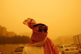 السعودية : اغلاق المدارس لليوم الثاني على التوالي بسبب العواصف
