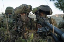 تدريبات جوية وبرية للجيش الإسرائيلي في قبرص