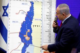 """نتنياهو يسعى لضم غالبية الضفة الغربية """"لاسرائيل"""""""