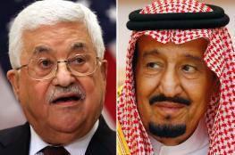 الرئيس يشكر الملك سلمان على مواقفه تجاه القضية الفلسطينية