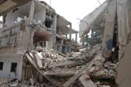 6 اصابات بينها طفل في انهيار مبنى قيد الانشاء في العيزرية