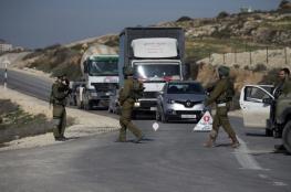 حواجز اسرائيلية وانتشار مكثف لقوات الاحتلال شرق قلقيلية
