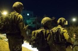 جنين : الاحتلال يستولي على كاميرات مراقبة ويعتقل 4 شبان من قباطية