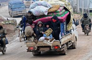 اكثر من 800 الف لاجئ فروا من الحرب المندلعة في ادلب