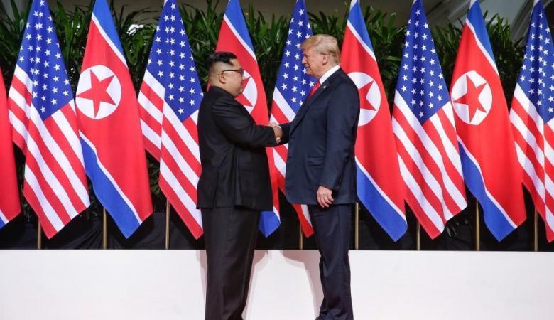 ترامب لن يزيل العقوبات المفروضة على كوريا الشمالية