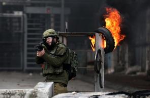 اصابات في مواجهات مع الاحتلال وسط الخليل