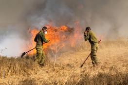 اندلاع 7 حرائق في مستوطنات غلاف غزة بفعل البالونات الحارقة
